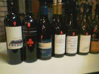 ワイン・テイスティング会